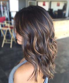 Chocolate brown hair colors for medium ash blonde hairstyles 2017 balayage