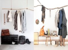 Percheros para colocar en tu casa| Decoración de interiores