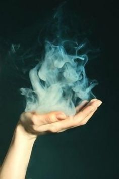 smoke in the hand