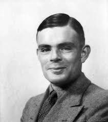 Alan Mathison Turing fue un matemático, lógico, científico de la computación, criptógrafo y filósofo británico. Es considerado uno de los padres de la ciencia de la computación siendo el precursor de la informática moderna. Proporcionó una influyente formalización de los conceptos de algoritmo y computación: la máquina de Turing. Formuló su propia versión de la hoy ampliamente aceptada Tesis de Church-Turing.