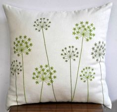 Embroider w/with french knots?