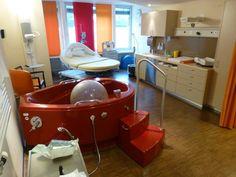 Родильное отделение швейцарской клиники.