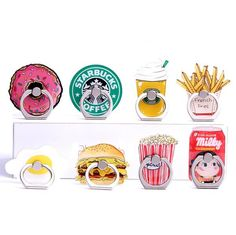 Food Phone Ring Grip/Stand--$3.99 + Free Shipping!!
