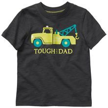 "Carters: ""Tough like dad"" tow truck"