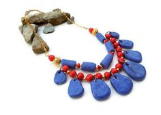 #History of #colors: #Egyptian #blue. A lucky discover from inattentive #natron #merchants of third millennium BC.   Tuttosicrea. Mindmade jewels. Handmade in polymer clay and mixed media.: Storia del colori, prima puntata: il blu. History ...
