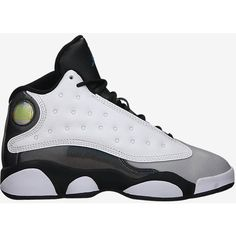 The Air Jordan 13 Retro (10.5c-3y) Preschool Boys' Shoe. ($80) ❤ liked on Polyvore featuring shoes, jordans and sneakers