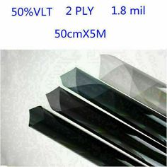 Tview 2ply 1mil 24 x 100ft Window Film Roll VLT 5/% T2BK0524