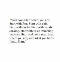 Choose to change.