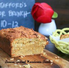 Banana Coconut Macadamia Bread Recipe - RecipeChart.com