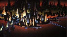 Batman: The Animated Series Background Art - Imgur