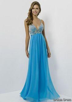 Nice prom dresses long blue 2017-2018