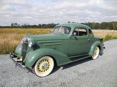 1936 Chevrolet Model FC Coupe