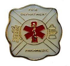 Paramedic Fire Department Hat or Lapel Pin Sujak Military Items. $5.95. Quality craftsmanship. Rubber clasp for secure wear. 1 inch diameter