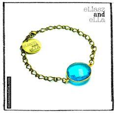 """Sky"" Chain Bracelet"