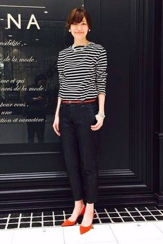 Womens Fashion Simple Casual Pants Ideas For 2019 Mature Fashion, Work Fashion, Fashion Pants, Fashion Outfits, Womens Fashion, Look Office, Japan Fashion, Minimal Fashion, Chic Outfits