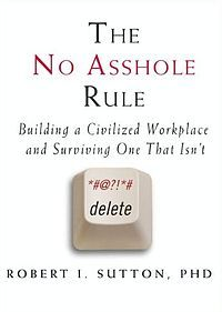 The theme of this book is that bullying behaviour in the workplace worsens morale and productivity. A rule is suggested to screen out the toxic staff – the no asshole rule. The author insists upon use of the word asshole since other words such as bully or jerk do not have the same impact.