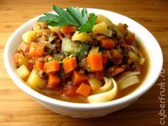 Узбекский вегетарианский лагман