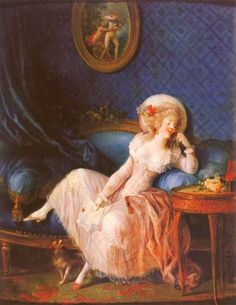 "Guilty Pleasures: Jean-Frédéric Schall I have admitted on more than one occasion to the ""guilty pleasure"" of an unabashed affection for the artists of the Rococo. Print, Adoration, French Art, Canvas Prints, Painting Illustration, Painting, Reading Art, Art, Courtly Love"