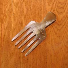 Timbuktu horn comb. Afro comb