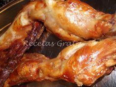 Receta de Conejo al Horno My Colombian Recipes, Colombian Food, Gourmet Recipes, Mexican Food Recipes, Puerto Rican Recipes, Rabbit Food, Carne Asada, Le Chef, Chicken Salad Recipes
