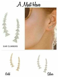 stella and dot pave ear climber earrings www.stelladot.com/sites/kzb