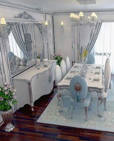 sacrifices for signs of love, home living room decorations 71 Classic Dining Room, Elegant Dining Room, Luxury Dining Room, Dining Room Design, Interior Design Living Room, Dining Set, Home Living Room, Living Room Decor, Dining Suites