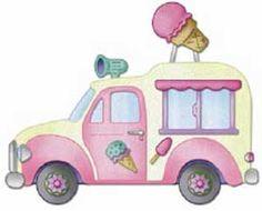 Cottage Cutz Ice Cream Truck 2 4x4 Die Set