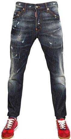 DSquared2 16cm Distressed Denim Cool Guy Jeans - Lyst