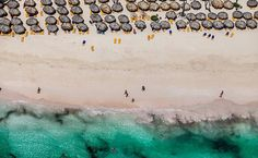 Fotos aéreas de Punta Cana, na República Dominicana, do fotógrafo Sergio Ranalli