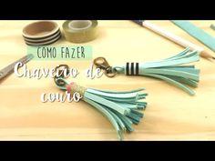 DIY: Pingente de franja (tassel) - A.Craft | Artesanato e artes para relaxar