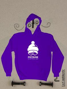 C'est qui la reine de la piste cet hiver? Certainement toi si tu possèdes ce beau pull à capuch'! Textiles, Pull, Graphic Sweatshirt, Sweatshirts, Sweaters, Fashion, Dance Floors, Queen, Boutique Online Shopping