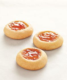 Jam Thumbprints Recipe. Possibly my favorite type of cookie. Seriously. At Christmas, for instance when I bake many kinds of cookies, multiple type of jam thumbprints are to be expected.