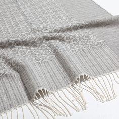 JACQUARD COTTON AND WOOL BLANKET - Blankets - Bedroom | Zara Home United Kingdom