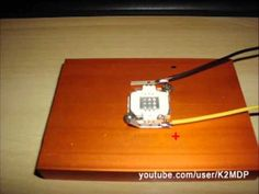 Very cheap DIY Reef led lamp (10w leds) - YouTube