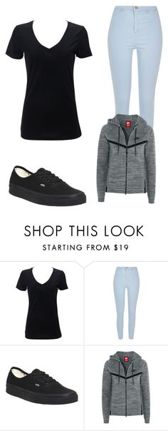 """""""Untitled #161"""" by flo-wer on Polyvore featuring River Island, Vans and NIKE"""