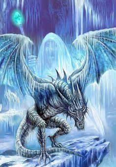 Baby Ice Dragon | Ice dragon