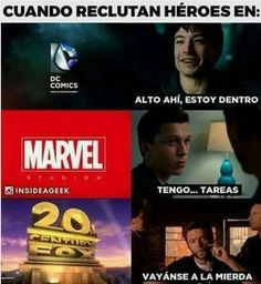 Read from the story Memes de Marvel by MssMarvel (Ana) with reads. Memes Marvel, Avengers Memes, Marvel Funny, Marvel Comic Universe, Marvel Dc Comics, Best Memes, Funny Memes, Troll, Mundo Marvel