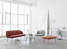 Muuto OSLO : canapé, fauteuil et pouf