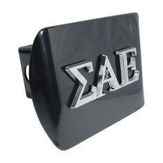 Sigma Alpha Epsilon Fraternity Black Hitch Cover
