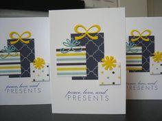 Handmade Hanukkah Card Stamped by apaperaffaire on Etsy