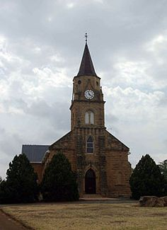 Dutch Reformed church, Ladybrand - Wikipedia Free State, Church Architecture, Old Churches, Church Building, Old Buildings, My Land, Big Ben, Places Ive Been, South Africa