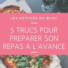 5 astuces pour préparer son repas à l'avance