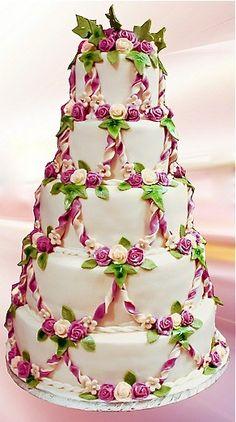 Beautiful little rose cake