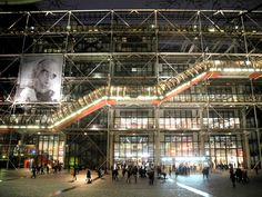 The George Pompidou center in Paris (architects : Renzo Piano & Richard Rogers). Still amazing 35 years after its construction.