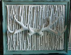 Deer Antler Art - love it!!!