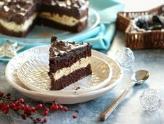 Aszalt szilvás csokoládétorta Recept képpel - Mindmegette.hu - Receptek Tiramisu, Fondant, Cheesecake, Food And Drink, Baking, Ethnic Recipes, Sweet, Cukor, Candy