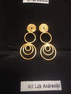 Earrings by Allegra TheArtShop