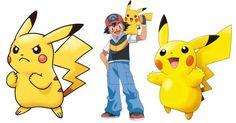 PNG Download: Pacote com 20 Imagens do Pikachu em PNG (Com Fundo Transparente) em alta definição