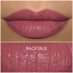Urban Decay Vice Lipstick in Backtalk - Review and Swatch