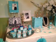 Breakfast at Tiffany's baby shower theme